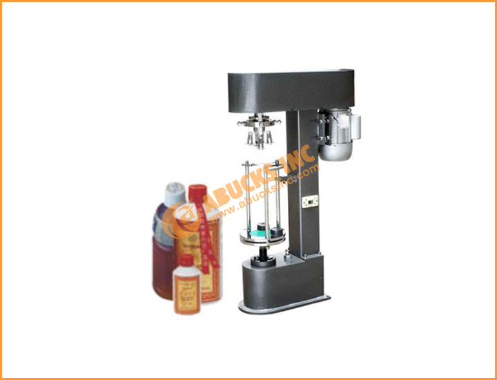 Moterized Screw Capping Machine / Ropp Capping Machine for Aluminum Metal Caps