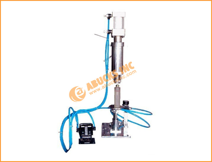 Semiautomatic or Pneumatic Perfume Crimping Machine