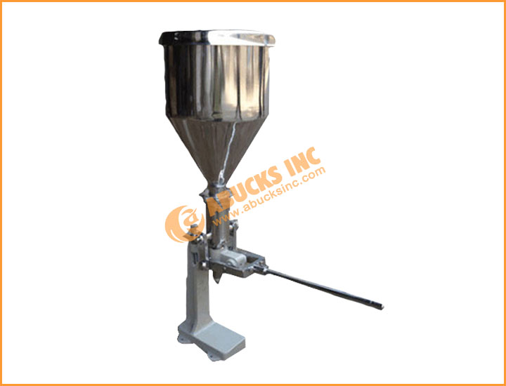 Manual Paste / Tube Filling Machine