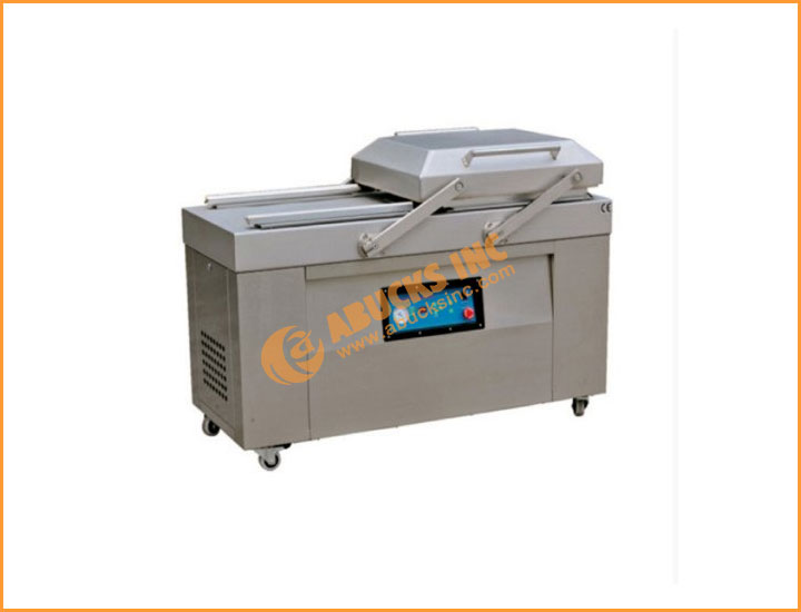 Double Chamber Vacuum Packaging Machine Model dz-500 d